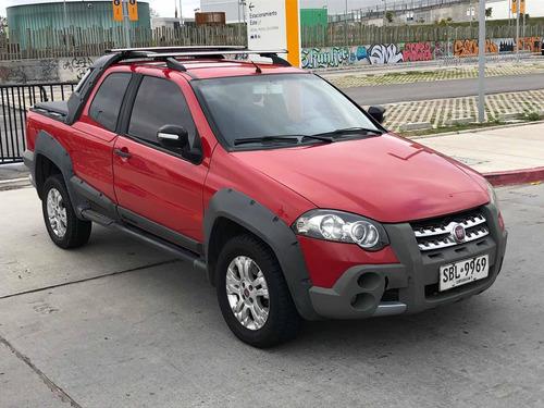 Fiat Strada 1.6 Adventure Cd C/alarma + Lona 2011
