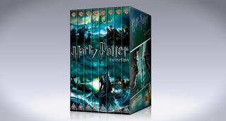 Harry Potter Pack Colección 8 Peliculas En Dvd