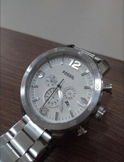 Relógio Fossil Masculino Jr1444 Original, Importado Usado.