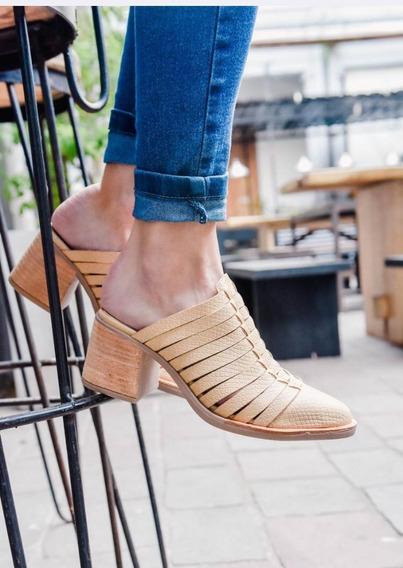 Zapatos De Mujer. 100% Cuero