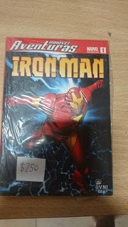 Aventuras Marvel Iron Man N1