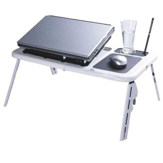 Mesa Dobrável Notebook Table 2 Cooler Mousepad Cabo Usb