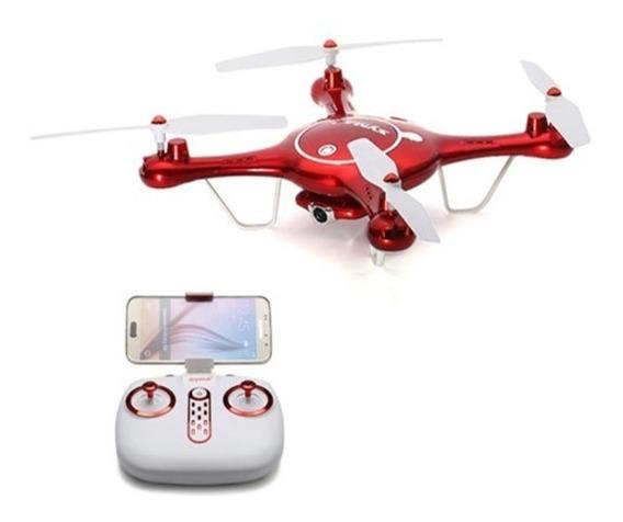 Drone Syma X5uw Fpv Camera 720p Wifi C/nfe+1 Bateria Extra