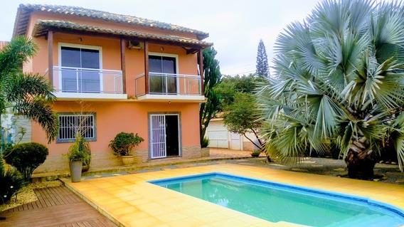 Casa Duplex Extraordinária No Recanto De Itaipuaçú