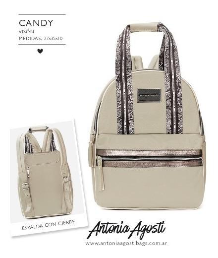#candy Mochila - Antonia Agosti