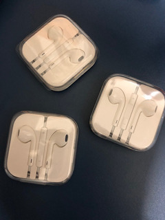 Fone Ouvido iPhone 6 6s 5 5s 4 100% Original Microfone iPad