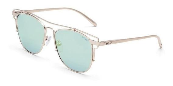 Oculos Solar Colcci C0067e1028 Dourado Fosco Lente Azul Espe