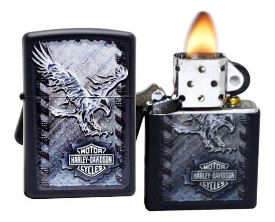 Isqueiro Zippo Iron Eagle Fluído Harley Davidson Exclusivo