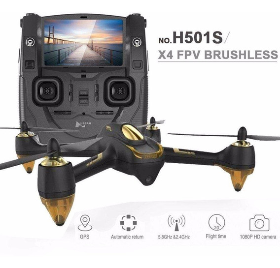 Manual Em Português Hubsan H501s + Curso Filmagem Drones