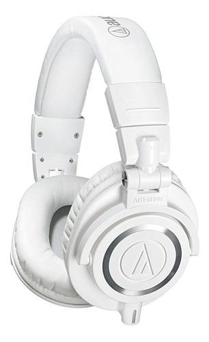 Auriculares Con Monitor De Estudio Profesional Blanco