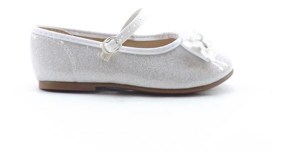 Zapato Guillermina Bebe Glitter Brillos Comunion 2106.182