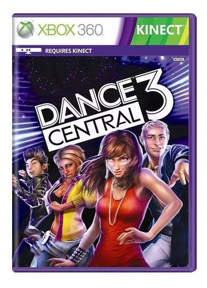 Dance Central 3 Xbox 360 Mídia Física Pronta Entrega