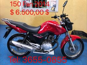 Cg 150 Fan Esdi Street Gasolina 2014