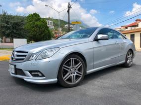 Mercedes-benz Clase E 3.5 350 Coupe 2 Puertas Quemacoco Pano