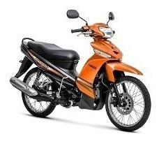 Carenagem Crypton Frontal Laranja 100% Original Moto Yamaha