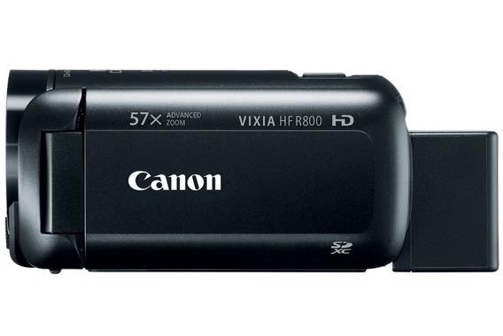 Filmadora Canon Vixia Hf R800 Full Hd Entrada De Mic+brindes