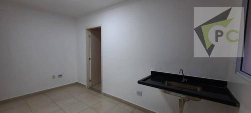 Apartamento Com 1 Dormitório Para Alugar, 30 M² Por R$ 720,00/mês - Vila Albertina - São Paulo/sp - Ap0523