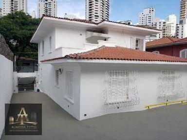 Excelente Casa Comercial À Venda  Pacaembu/sp  Área De Terreno 600 M²  Confira! - So0076