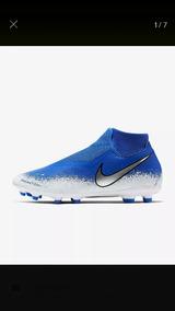 Oferta Taquetes Nike Visión Azules Originales Talla 27.5