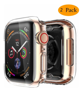 2 Protectores Para Apple Watch Series 5/4 44mm Covertor(xsr)