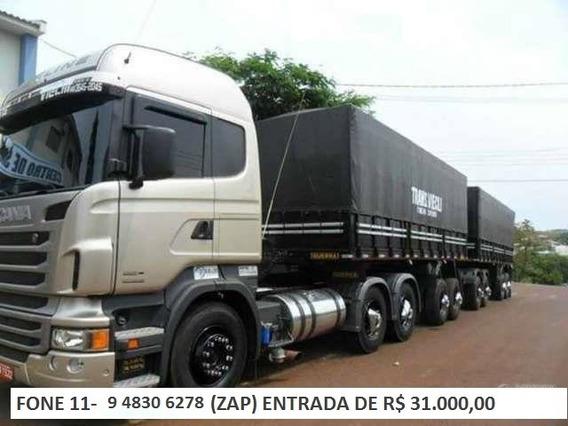 Scania G 440 Ano 13/13 Rodotrem Guerra
