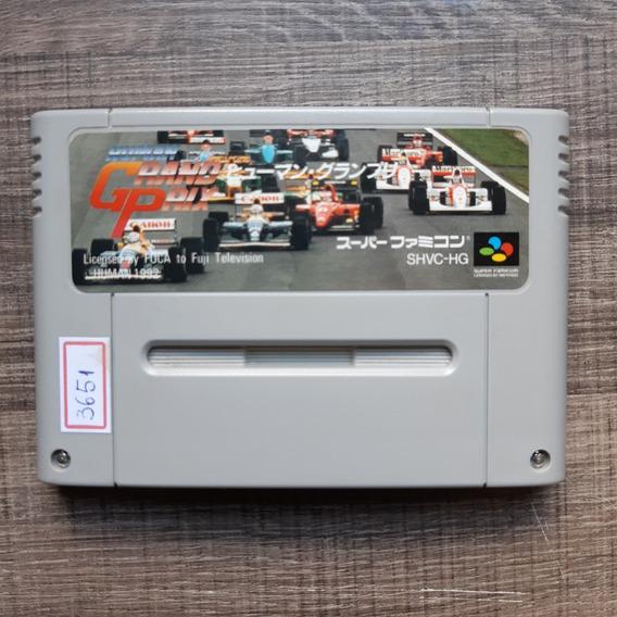 Grand Prix Human Original Super Famicom Snes Ref.3651