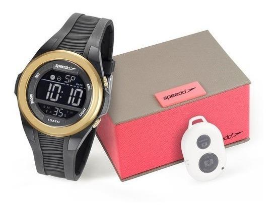 Kit Relógio Speedo Feminino Disp De Selfie 65097l0evnp2kz