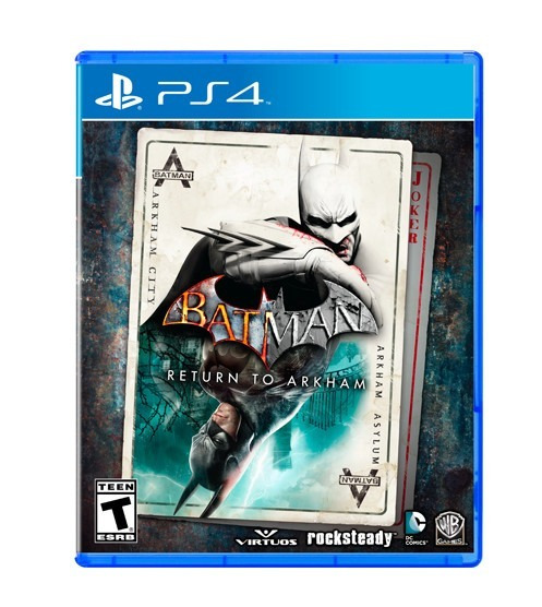 Batman Return To Arkham (mídia Física Leg Pt-br) - Ps4