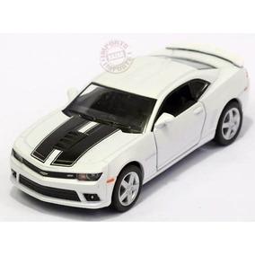 Chevrolet Camaro Ss 2014 1:38 Kinsmart Branco