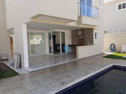 Casa Com 4 Dormitórios À Venda, 344 M² Por R$ 2.700.000,00 - Residencial Burle Marx - Santana De Parnaíba/sp - Ca1365