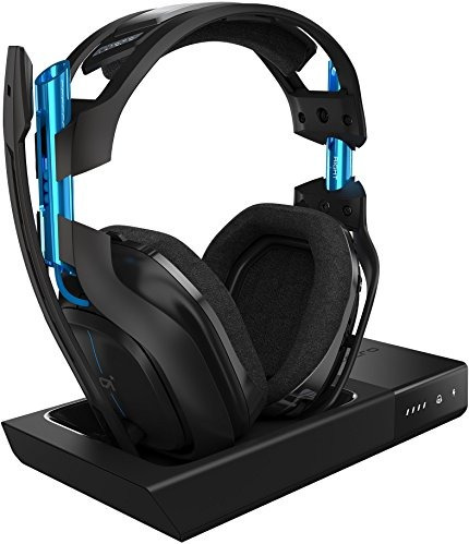 Astro Gaming A50 Wireless Gaming Headset Dolby - Negro / Azu