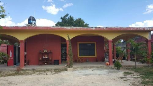 Casa Con Cuarto Frio De 25 Toneladas En Kanasin