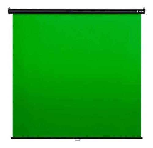 Imagem 1 de 3 de Tela Verde Mancer Chroma Key 200x180cm, Mck-150