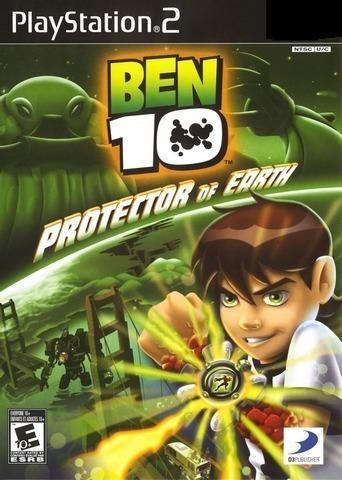 Jogo Ps2 - Ben 10 Protector Of Earth- Frete Grátis