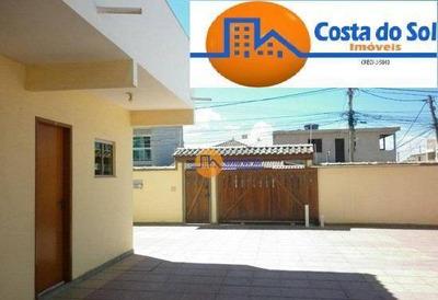 Kitnet Com 1 Dormitório Para Alugar, 32 M² Por R$ 600/mês - Atlântica - Rio Das Ostras/rj - Kn0002