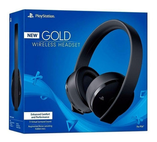Headset New Fone Gold 7.1 Wireless Stereo Sony Ps4 + Nfe