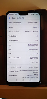 Huawei P20 Lite 64gb Usado