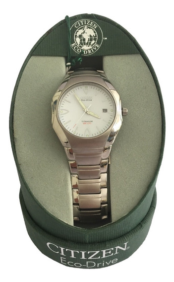 Reloj Citizen Eco Drive Titanium Para Hombre Bm6190-51a