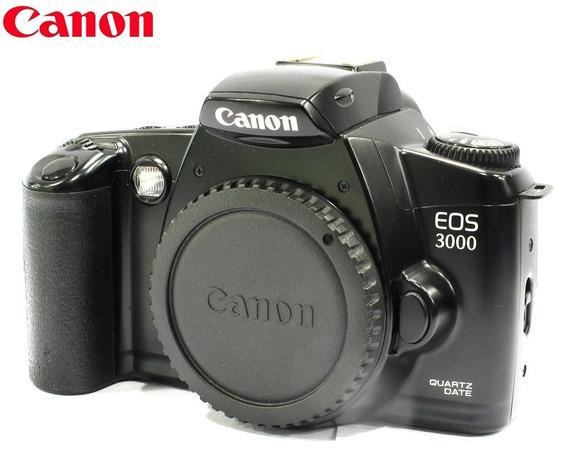 Câmera Canon Reflex 35mm Eos 3000 Qd - Corpo - Analógica