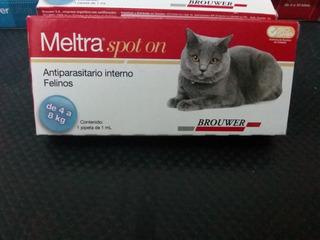 Meltra Spot On Antiparasitario Interno Para Gatos De 4 A 8 K