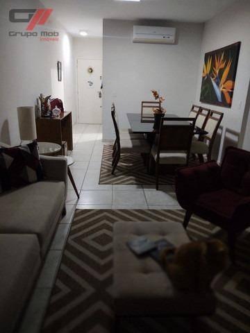 Apartamento Com 3 Dormitórios À Venda, 90 M² Por R$ 350.000 - Vila São José - Taubaté/sp - Ap0432