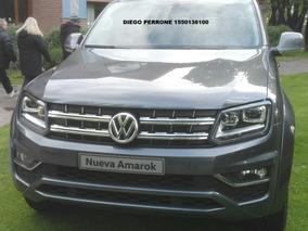 Okm Volkswagen Amarok 2.0 Cd Tdi 180cv Comfortline 4x2 Vw 2