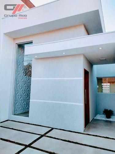 Casa Com 2 Dormitórios À Venda, 90 M² Por R$ 300.000,00 - Jardim Oasis - Taubaté/sp - Ca0305