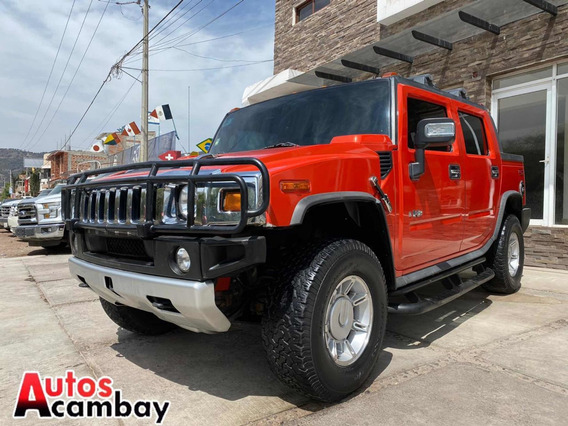 Hummer H2 6.2 Ee Qc Piel Pickup Adventure 4x4 At 2008