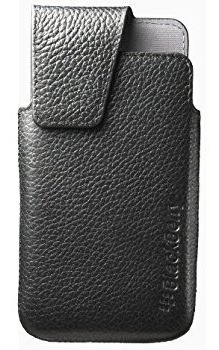 Holster Blackberry Leather Z10 Original. Negro