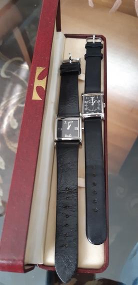 Dois Relógios Femininos Quartz Dolce&gabbana/empório Armani