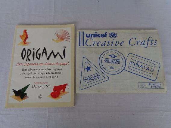 Livro Origami Diario De Sá Ediouro + Revista Unicef*