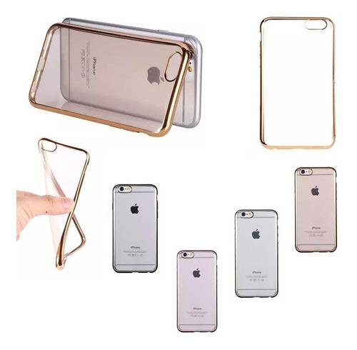 Forro Antigolpe iPhone 6, 7,  7 Plus Acrigel Transparente