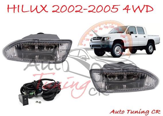 Halogenos Toyota Hilux 2002-2005 4wd