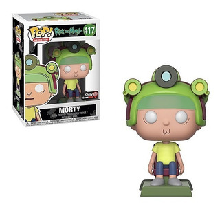 Morty Rick And Morty Blips And Chitz Gamestop Exc Funko Pop
